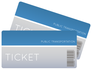 transit ticket icon